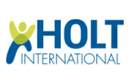 Logo for Holt International Children's Services